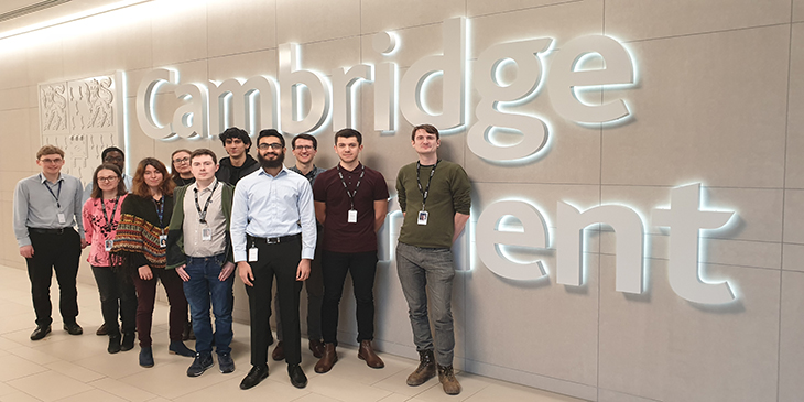 data science apprentices at Cambridge Assessment