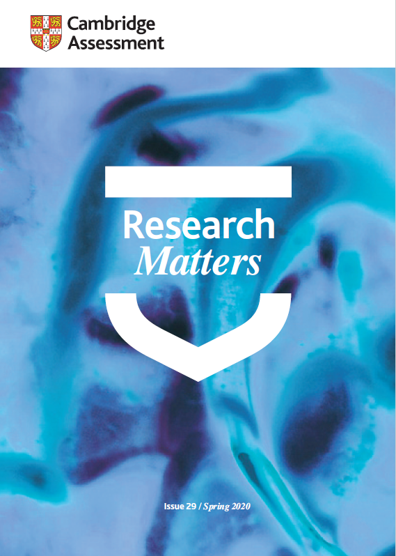 Research Matters Issue 29 cover