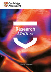 Research Matters 30 cover