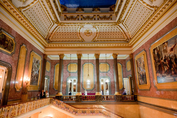 Lancaster House upstairs - image