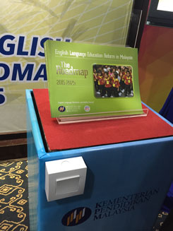 Magnification in Malaysia launching machine image