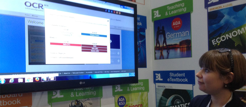 OCR Exam builder at Bett image