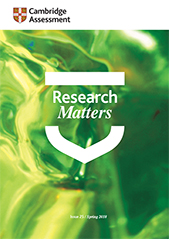 Research Matters 25 cover