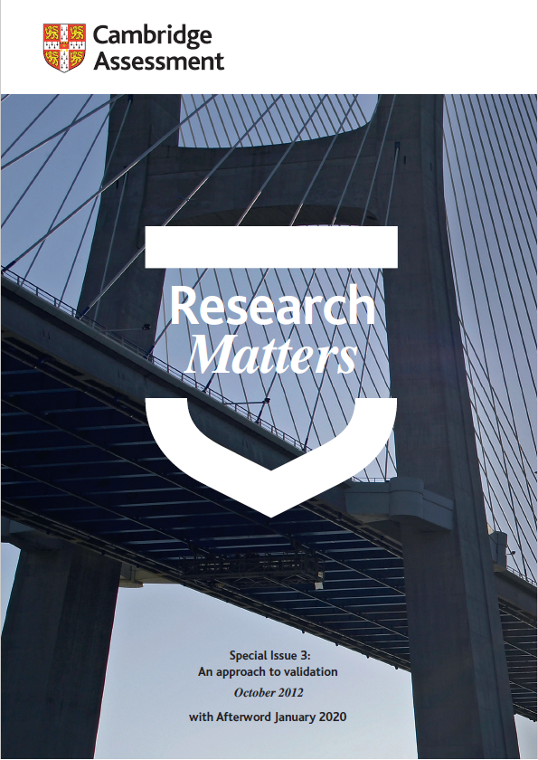 Research Matters Special Issue 3 - republished with Afterword