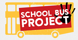 Working with Refugees - School Bus Project logo