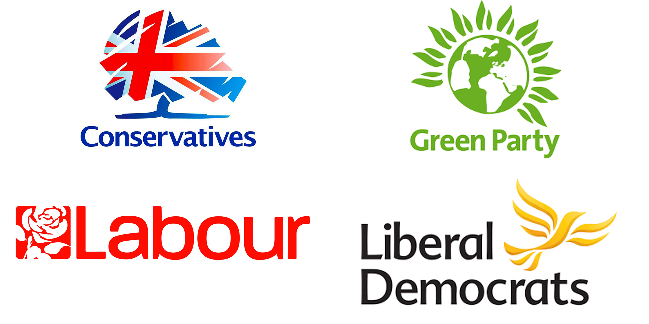 u k general election political party logos