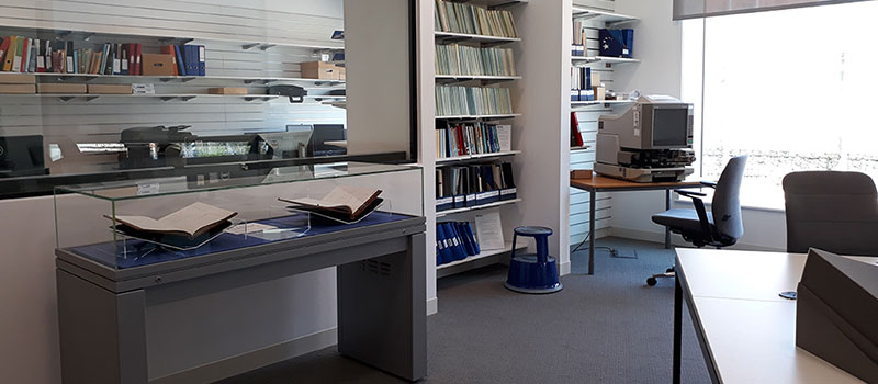 Picture of the archive room
