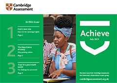 Cambridge Assessment Achieve Summer 2019