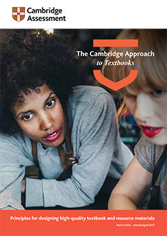 The Cambridge Approach to Textbooks cover