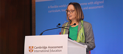 Cambridge Assessment International Education Chief Executive Christine Özden
