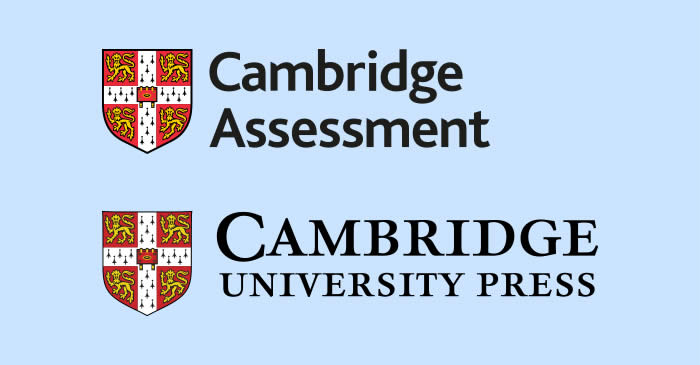 Cambridge Assessment and Cambridge University Press logos