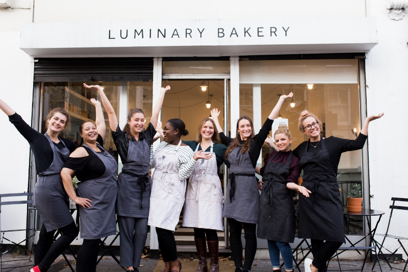 luminary bakery team