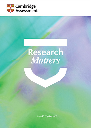 Research Matters 23 cover