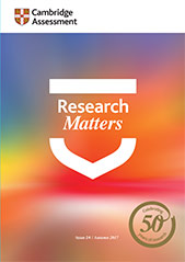 Research Matters 24 cover