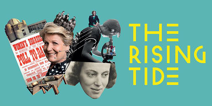 rising tide exhibition poster