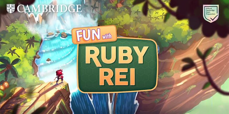 Ruby Rei Cambridge English game