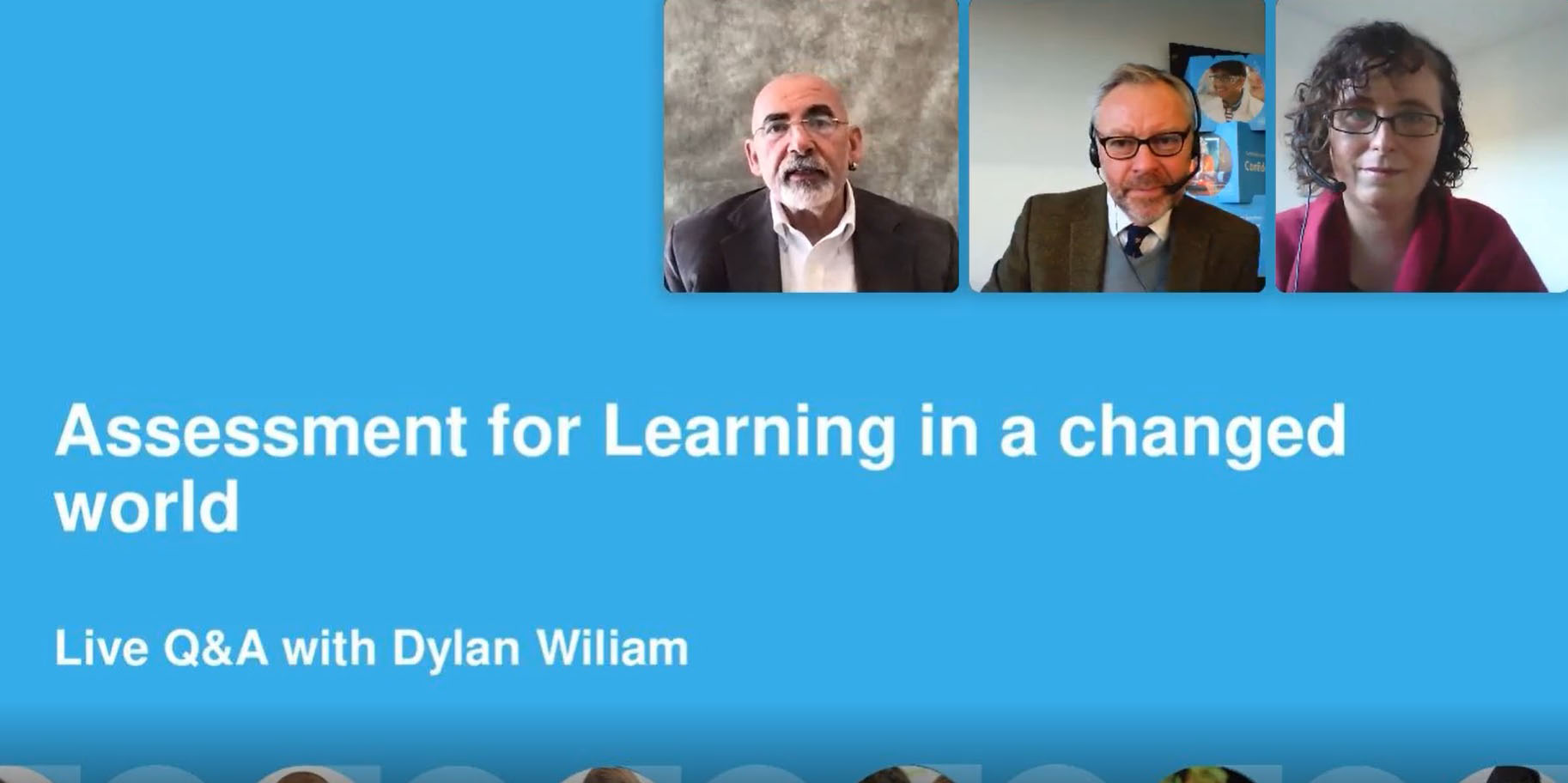 Assessment for Learning in a a changed world