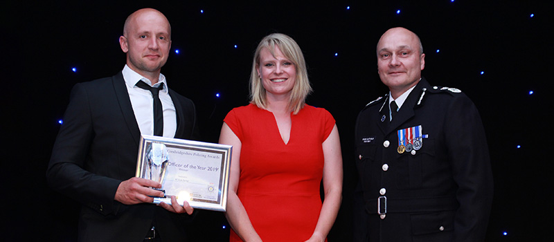 Reaching more learners in our communities - police awards - image